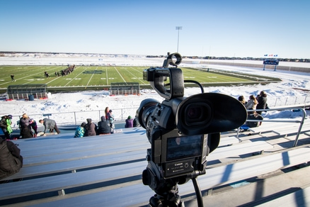 Football Field video work