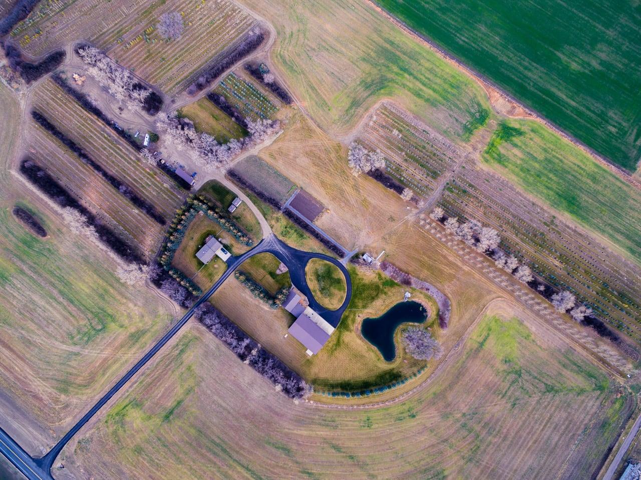 farm drone shot, drone video calgary