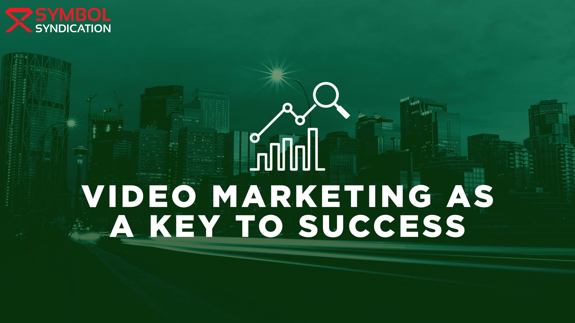 video marketing as a key to success banner