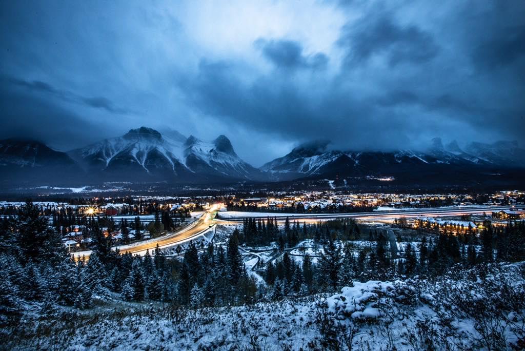 Canmore Alberta, shot by Jon Hafichuk