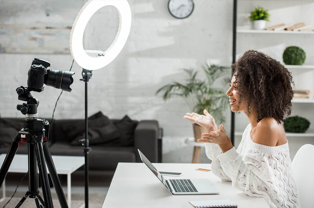 at home lighting options for your webinars