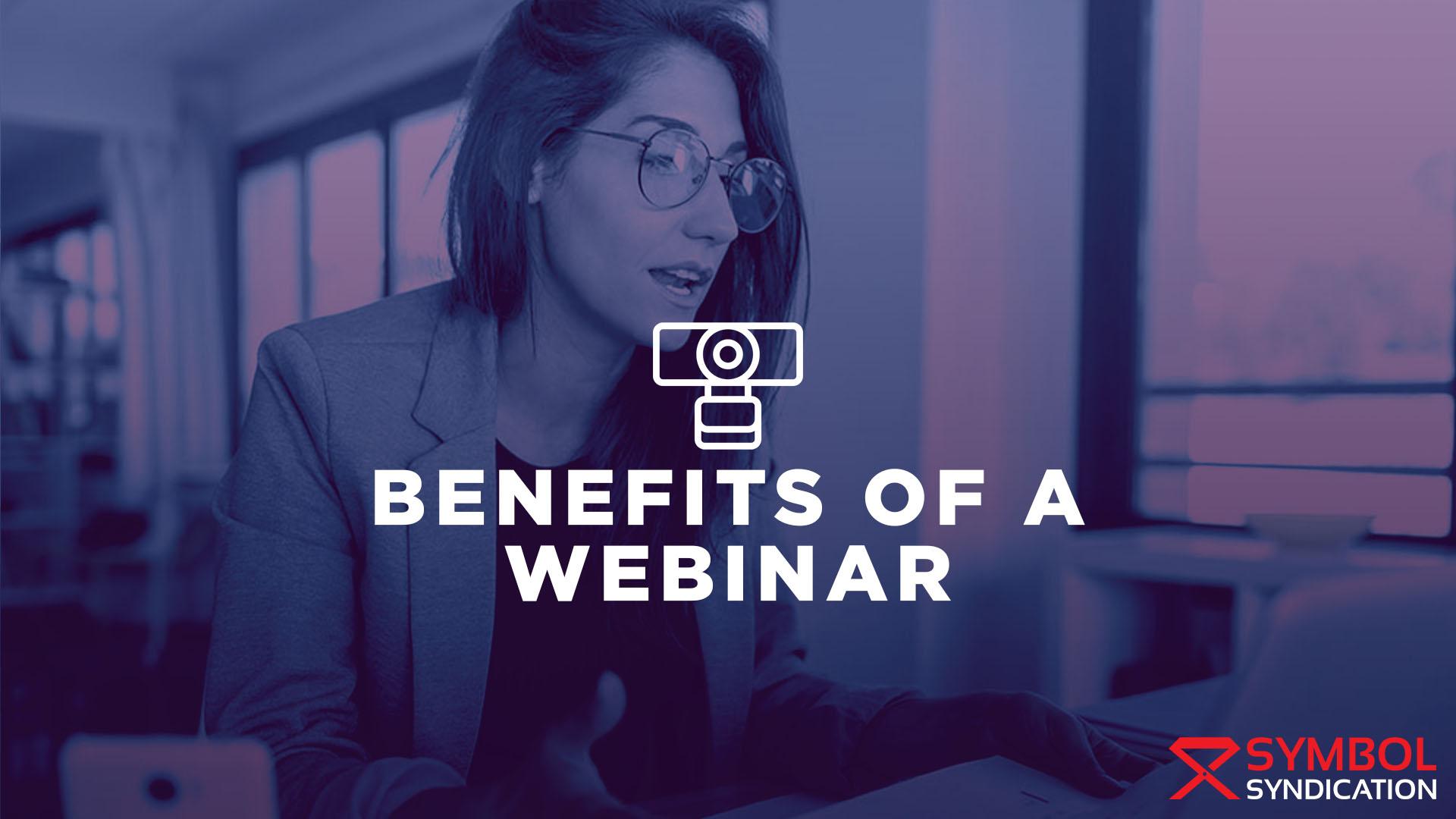 Benefits of a webinar banner