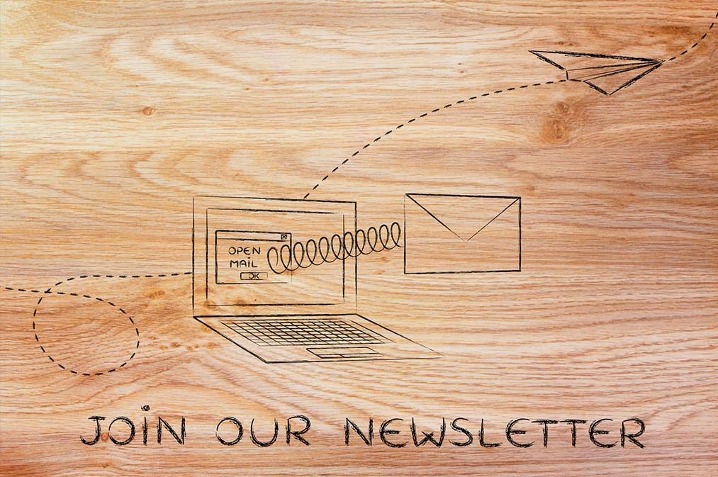 newsletter registration to watch webinar